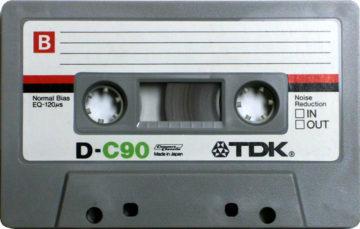 TDK Cassette Tape